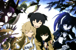 Black Rock Shooter Anime Picture for Android, iPhone and iPad