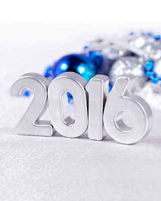 2016 New Year Wallpaper for Nokia Asha 306