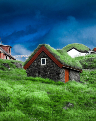 Torshavn Capital of Faroe Islands Wallpaper for HTC Titan