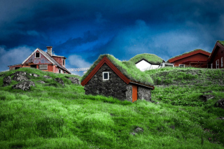 Torshavn Capital of Faroe Islands Background for Android, iPhone and iPad