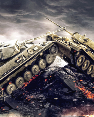 World of Tanks - WOT sfondi gratuiti per Nokia C1-01