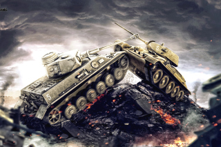World of Tanks - WOT - Obrázkek zdarma pro Widescreen Desktop PC 1920x1080 Full HD