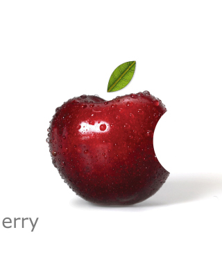 Apple Funny Logo Picture for iPhone 6 Plus