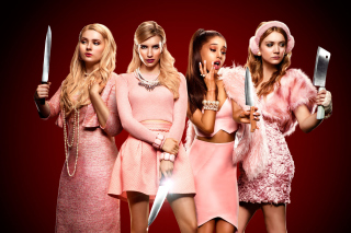 Scream Queen 2015 sfondi gratuiti per cellulari Android, iPhone, iPad e desktop