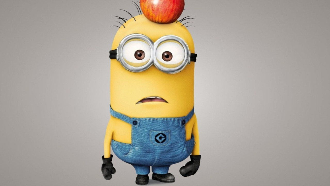 Minion With Apple