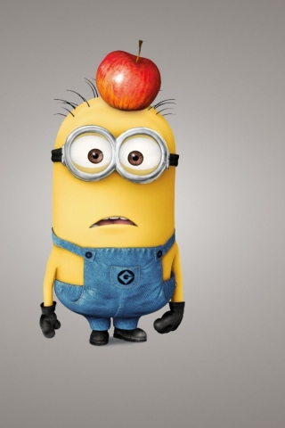 Minion With Apple para Huawei G7300