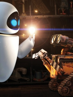 Screenshot №1 pro téma Wall E Meets Eve 240x320