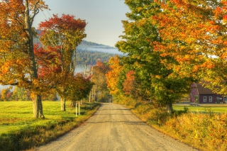 Free Autumn Landscape Picture for Android, iPhone and iPad