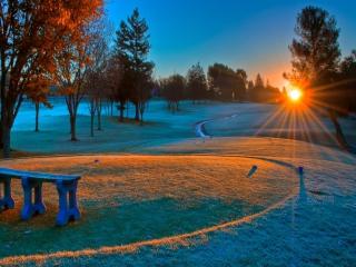 Winter Sunset para Nokia Asha 201