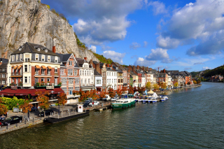 Belgium Dinant Background for Android, iPhone and iPad