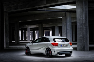 Mercedes Benz A45 AMG Background for Android, iPhone and iPad
