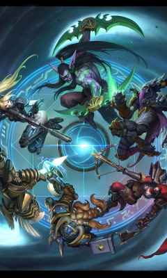 Heroes of the Storm screenshot #1 240x400