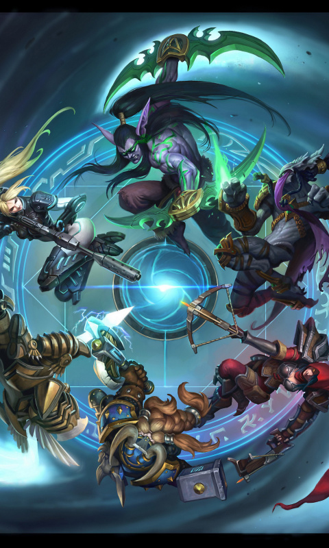 Sfondi Heroes of the Storm 480x800