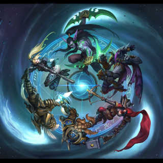Kostenloses Heroes of the Storm Wallpaper für 1024x1024