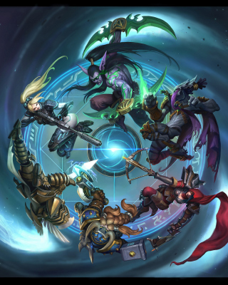 Heroes of the Storm Wallpaper for Nokia Asha 306