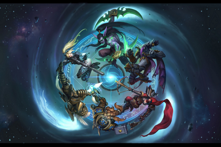 Fondo de pantalla Heroes of the Storm