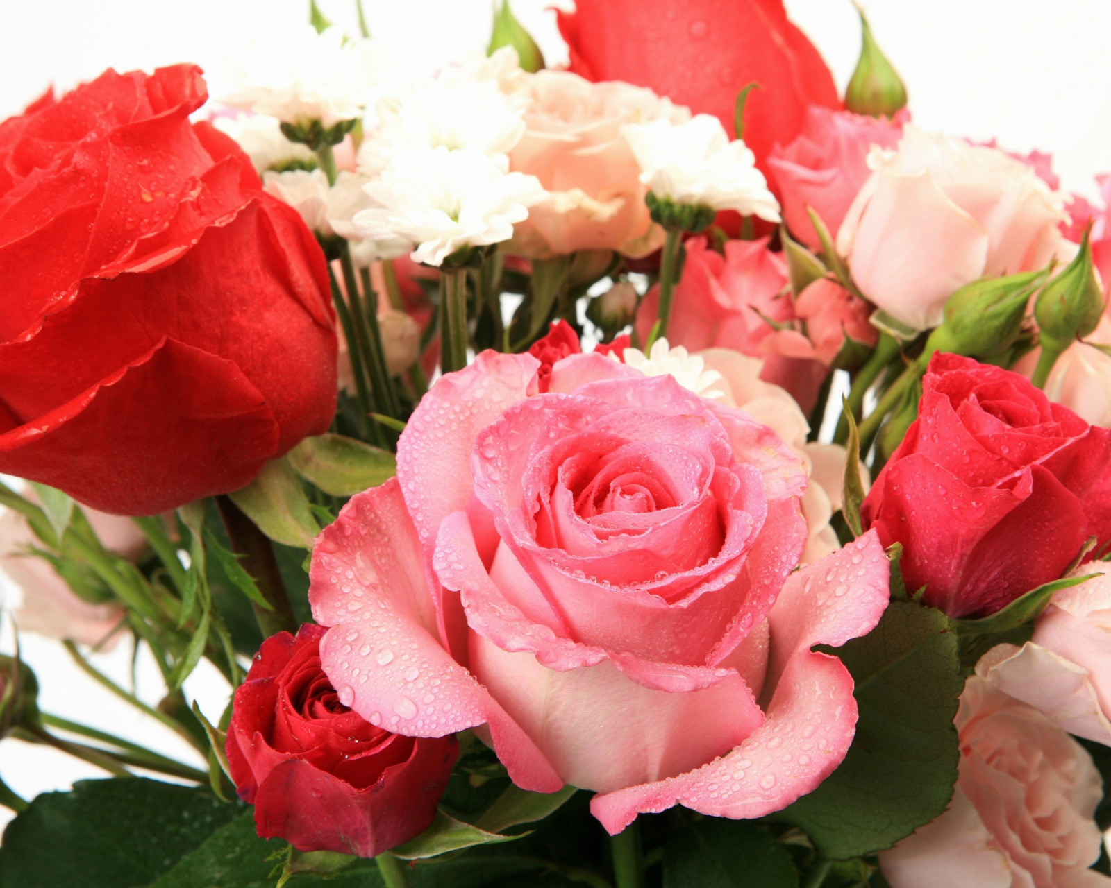 Screenshot №1 pro téma Bouquet of roses for Princess 1600x1280