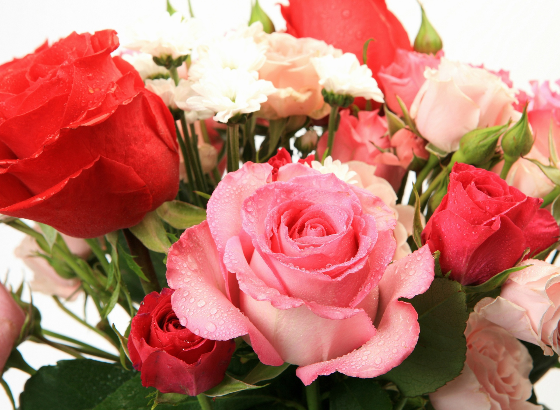 Screenshot №1 pro téma Bouquet of roses for Princess 1920x1408