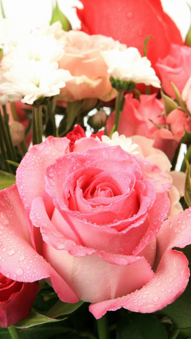 Screenshot №1 pro téma Bouquet of roses for Princess 640x1136