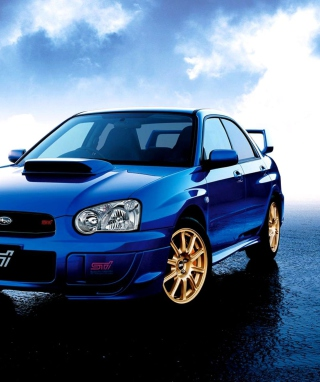 Subaru Impreza Wrx Sti Background for HTC Titan