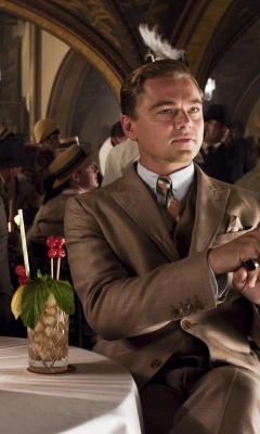 Screenshot №1 pro téma The Great Gatsby 240x400