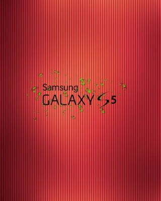 Galaxy S5 Wallpaper for Nokia Asha 306