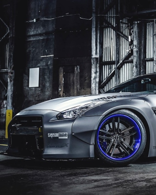 Nissan GT R Body Kit Wallpaper for Nokia Asha 311