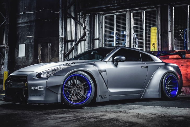 Обои Nissan GT R Body Kit
