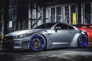 Nissan GT R Body Kit Background for Android, iPhone and iPad