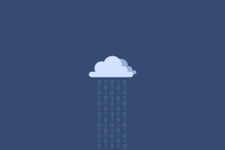 Binary Rain Background for Android, iPhone and iPad