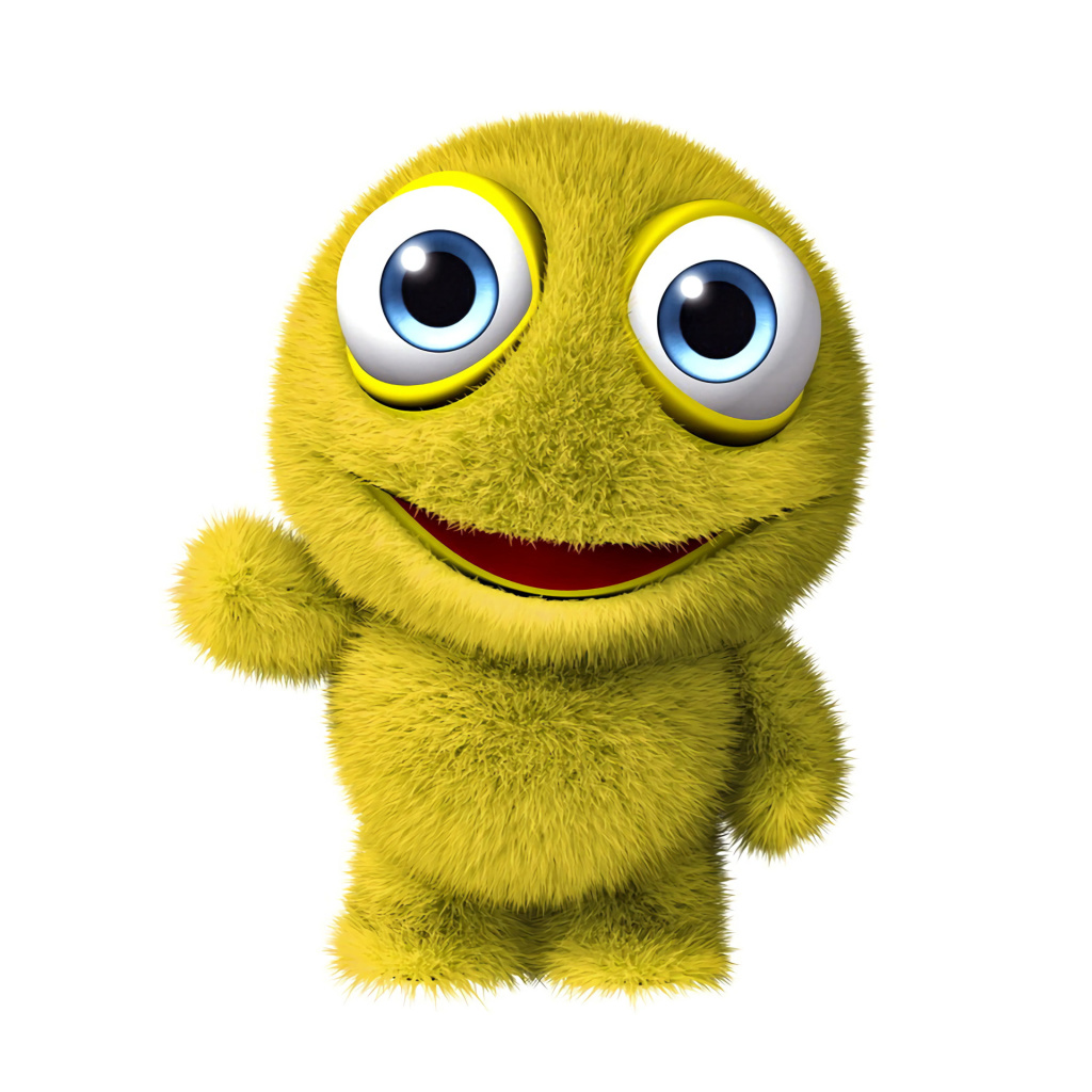 Screenshot №1 pro téma 3D Yellow Monster 1024x1024