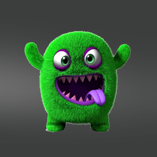 Green Monster sfondi gratuiti per iPad 3