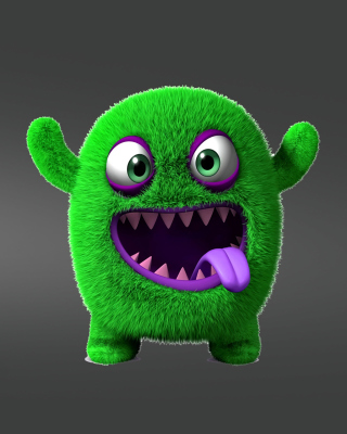 Green Monster Wallpaper for 480x800