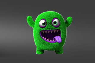 Green Monster Wallpaper for Samsung Galaxy Tab 10.1