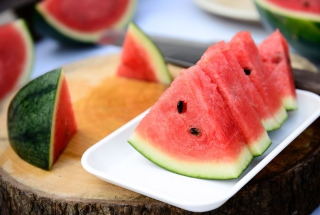 Juicy Watermelon Picture for Android, iPhone and iPad