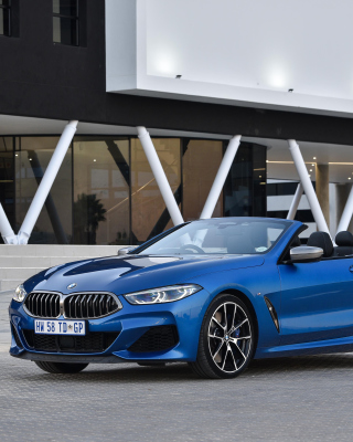 BMW M850i xDrive Cabrio Background for Nokia C-5 5MP