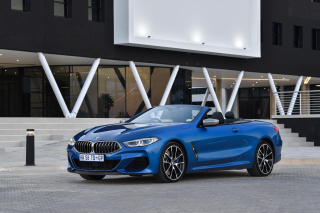 BMW M850i xDrive Cabrio Background for Android, iPhone and iPad
