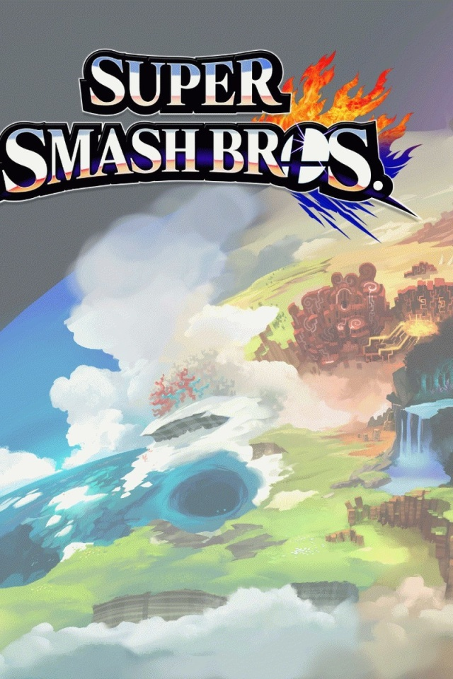 Screenshot №1 pro téma Super Smash Bros for Nintendo 3DS 640x960