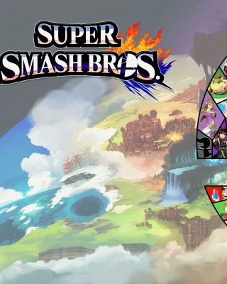 Kostenloses Super Smash Bros for Nintendo 3DS Wallpaper für 640x1136
