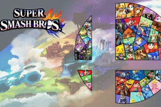 Kostenloses Super Smash Bros for Nintendo 3DS Wallpaper für 1400x1050