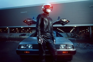 Daft Punk Delorean Wallpaper for Android, iPhone and iPad