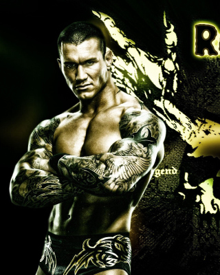 Randy Orton Wrestler Background for iPhone 3G