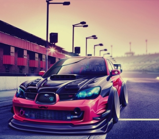 Subaru Impreza Super Tuning Picture for iPad 2