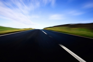 Fast Road Wallpaper for Android, iPhone and iPad