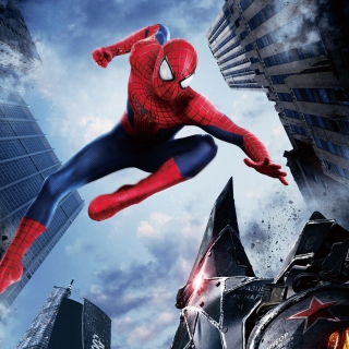 The Amazing Spider Man 2014 Movie - Obrázkek zdarma pro iPad mini