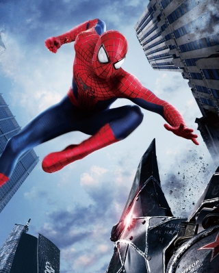 The Amazing Spider Man 2014 Movie - Obrázkek zdarma pro iPhone 4