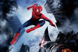 Kostenloses The Amazing Spider Man 2014 Movie Wallpaper für HTC One