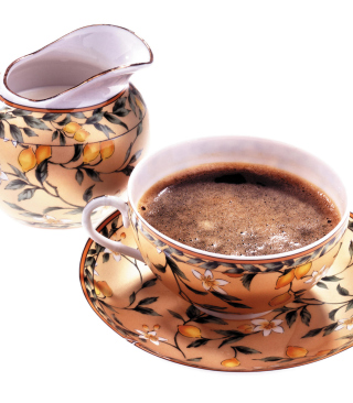 Arabic Coffee Wallpaper for Nokia Asha 306