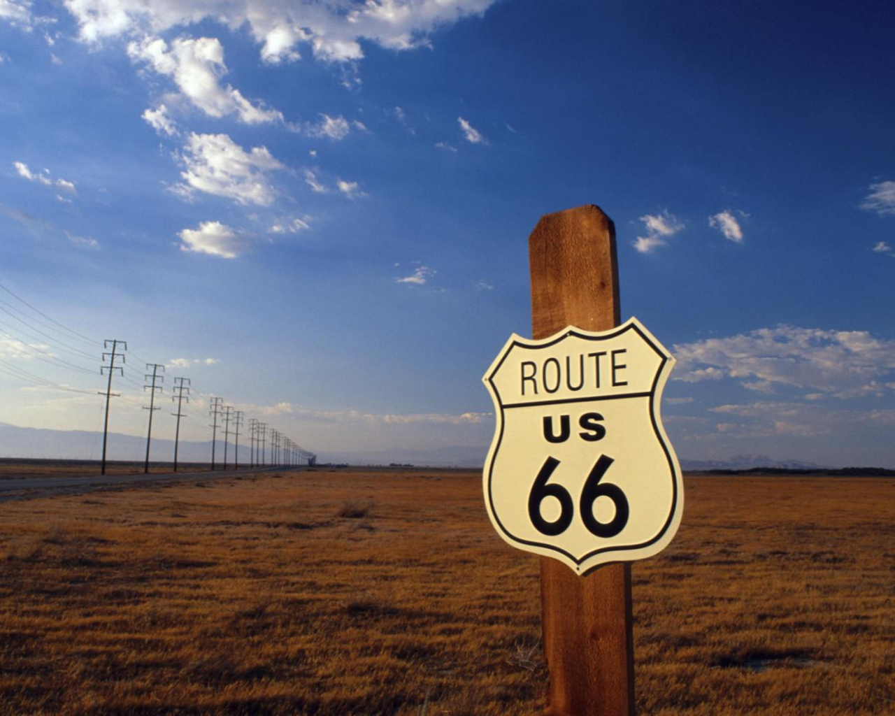 Screenshot №1 pro téma America's Most Famous Route 66 1280x1024