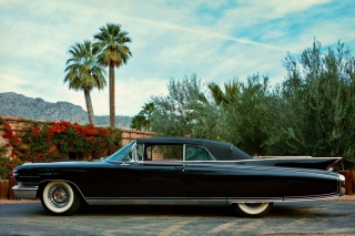 Cadillac Eldorado Biarritz Background for Android, iPhone and iPad